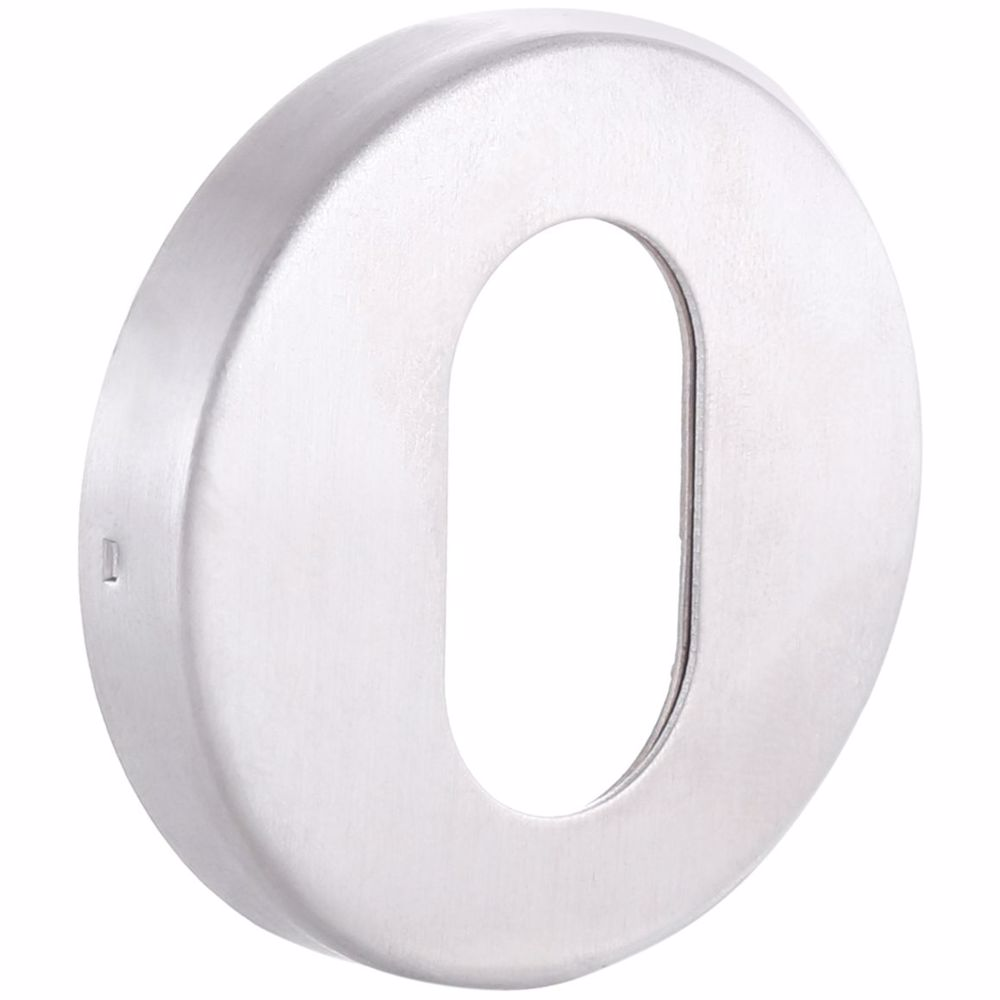Oval Profile Door Key Hole Escutcheon