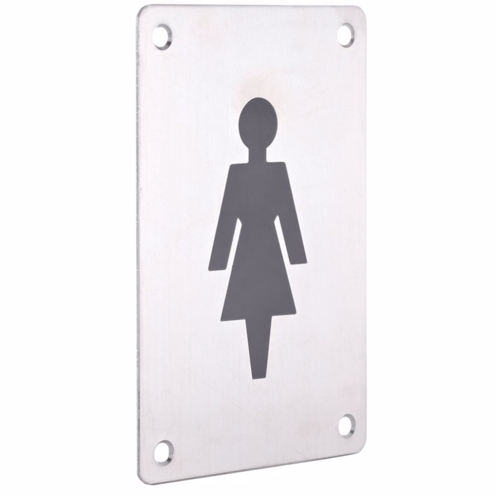 Washroom/Toilet/Bathroom Sign Plate Female/Women