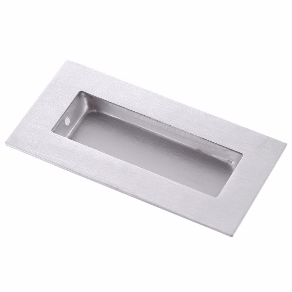 Furniture Sliding Inset/Flush/Concealed Rectangle Door Handle - Drawer/Cabinet/Closet