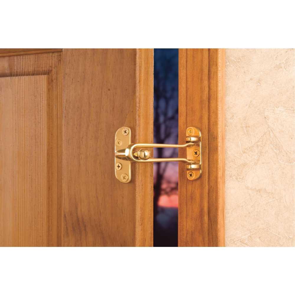 Dorfit DTDG001 Security Door Guard Swing Arm, Gold
