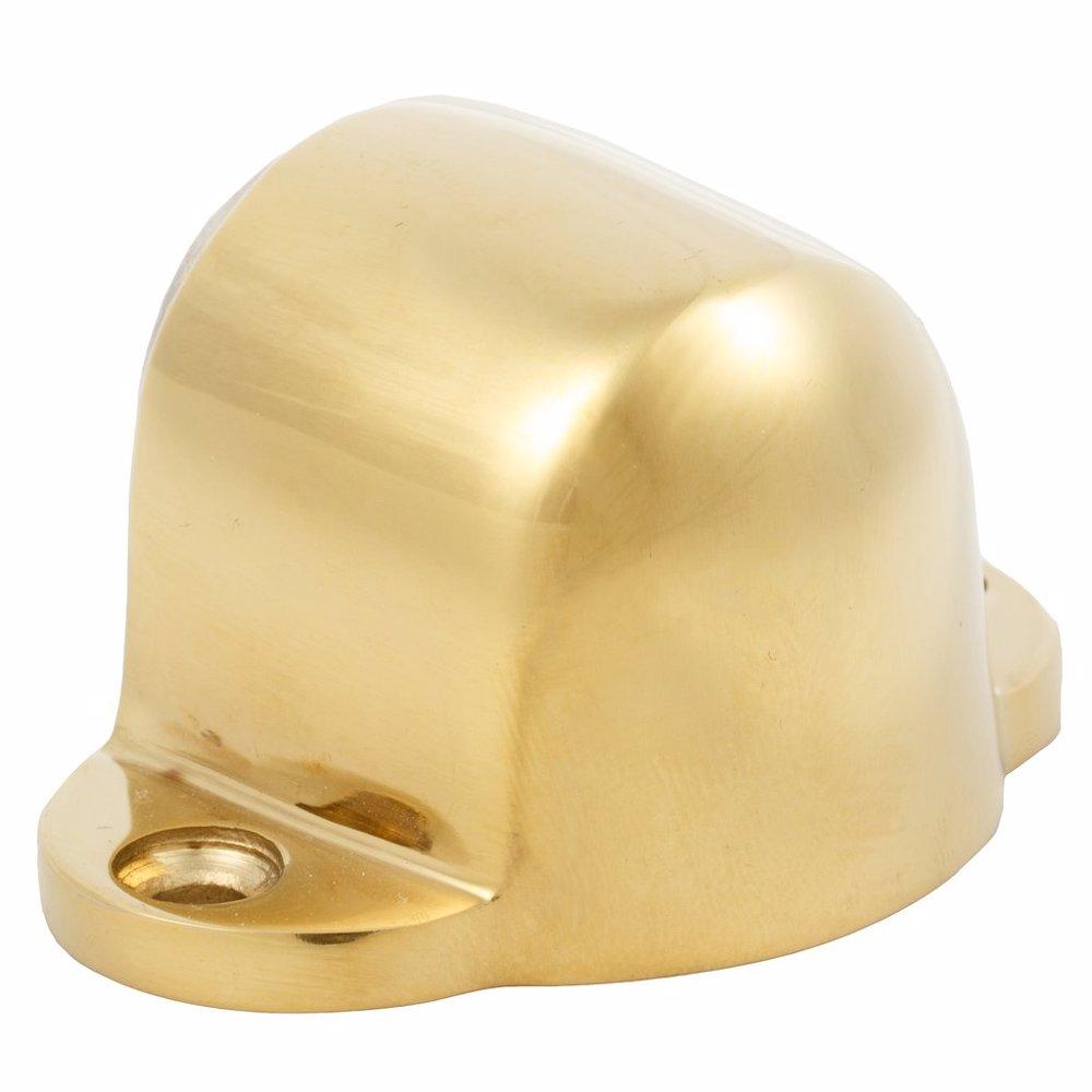 Dorfit DTDS031 Zinc Magnetic Door Stopper Floor Mounted, Gold