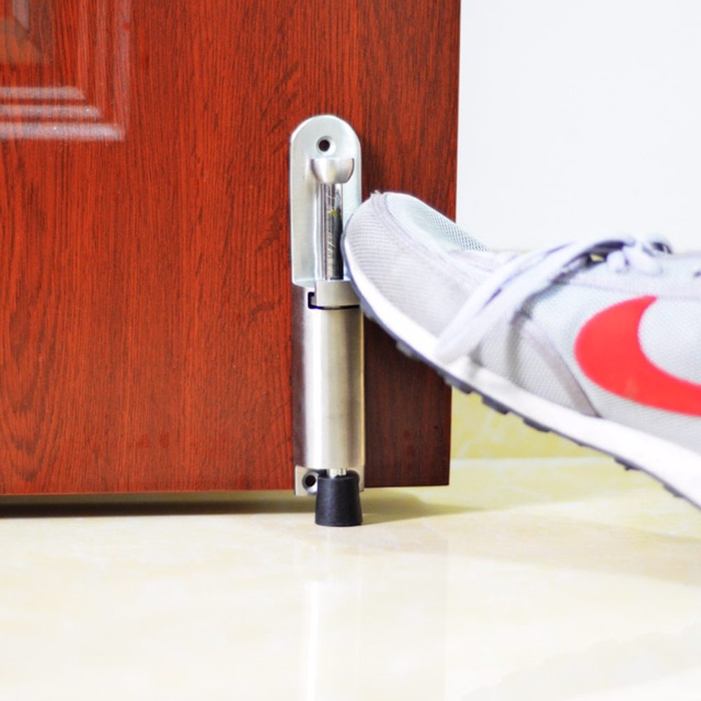 Dorfit DTDS034 Zinc Foot Operated Door Stopper