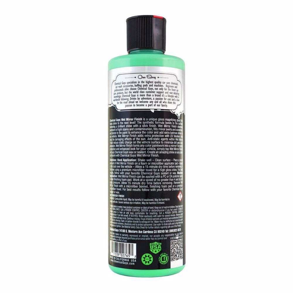 Chemical Guys Wet Mirror Finish Ultra Slick Gloss Magnifier 16oz
