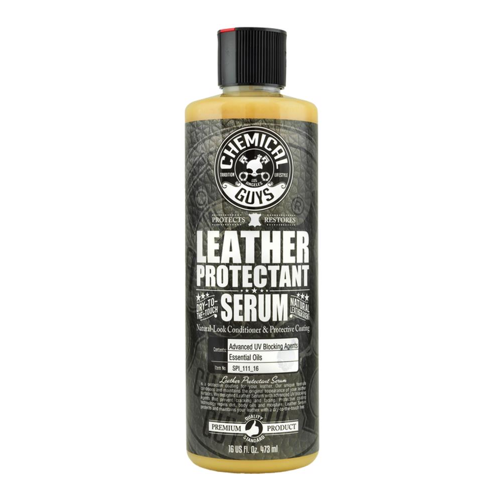 Chemical Guys SPI_111_16 Leather Serum - Natural Look Conditioner & Protective Coating - 16oz
