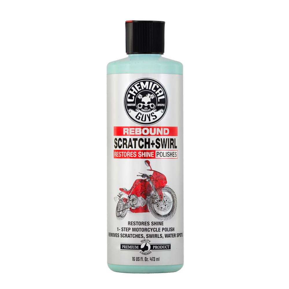 Chemical Guys Rebound Scratch & Swirl Remover One Step Polish for Motorcycles 16oz