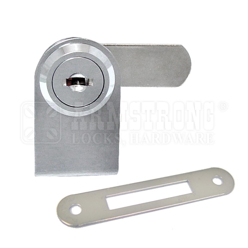 Armstrong 410-1 - Cabinet Single Swinging Glass Door Lock