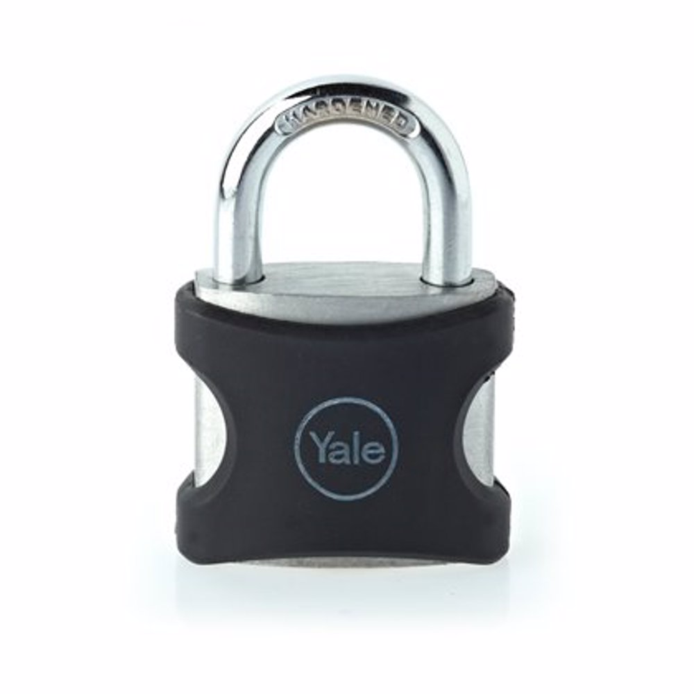 Yale YE3 Aluminium Padlock 25 mm Black