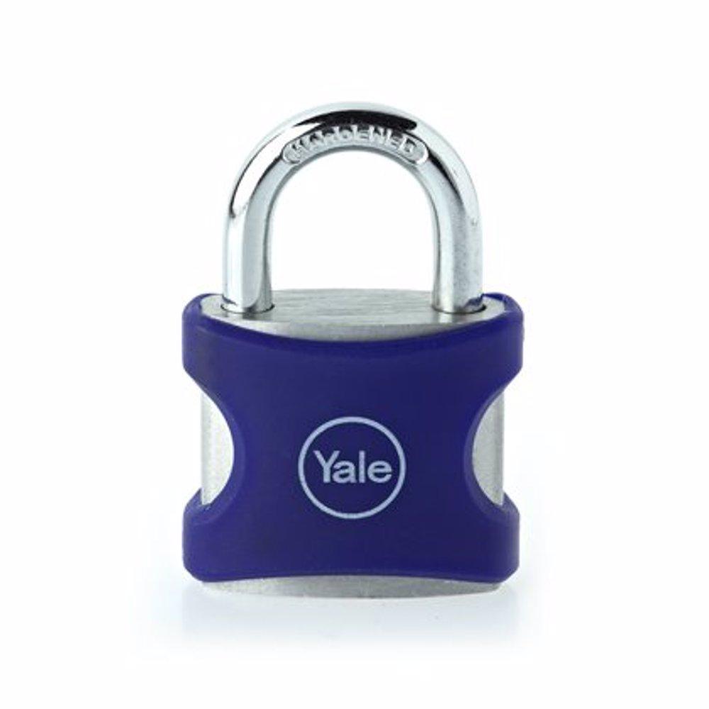 Yale YE3 Aluminium Padlock 25 mm Blue