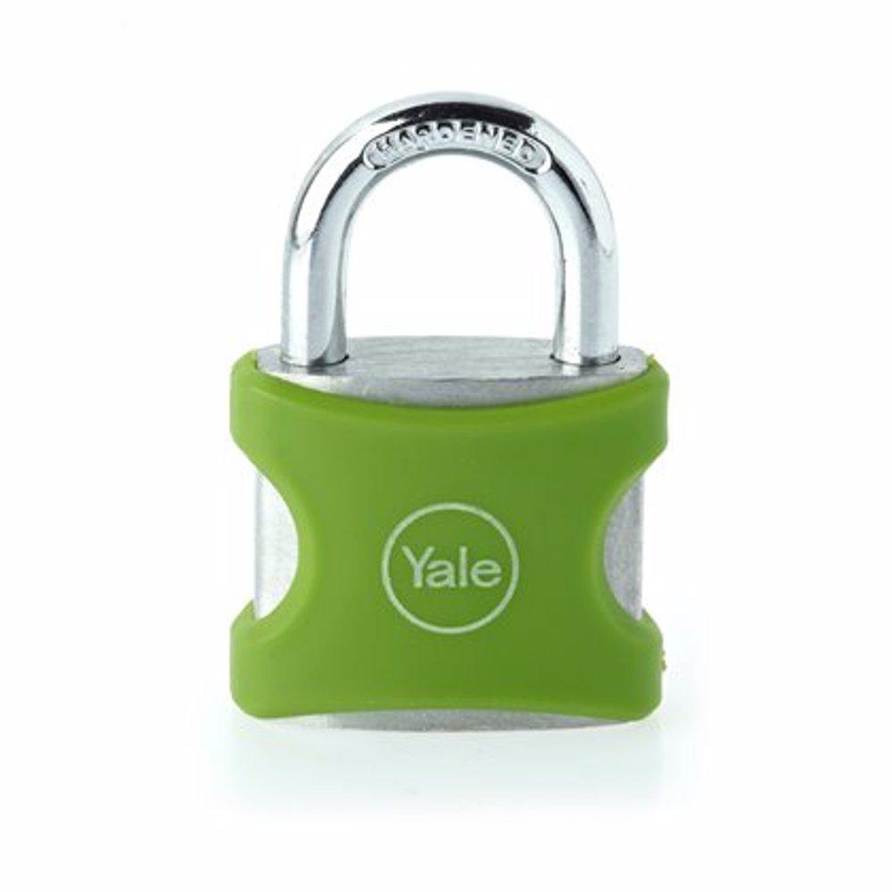 Yale YE3 Aluminium Padlock 25 mm Green