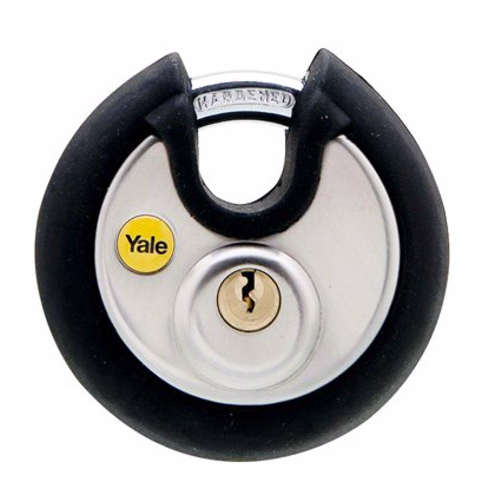 Yale Y130P Stainless Steel Protector Range Round Padlock 70 mm