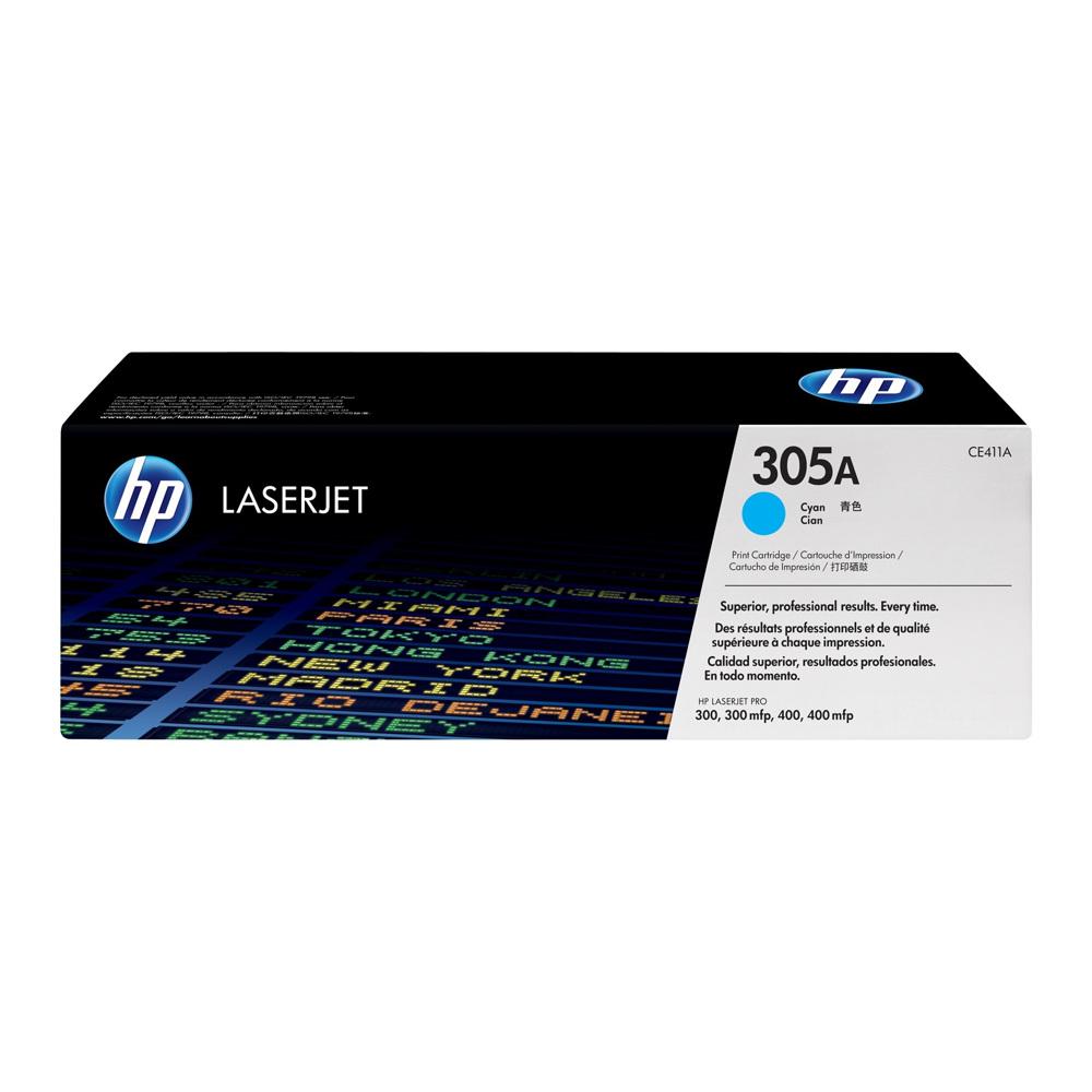 HP Laserjet toner CE411 A Cyan