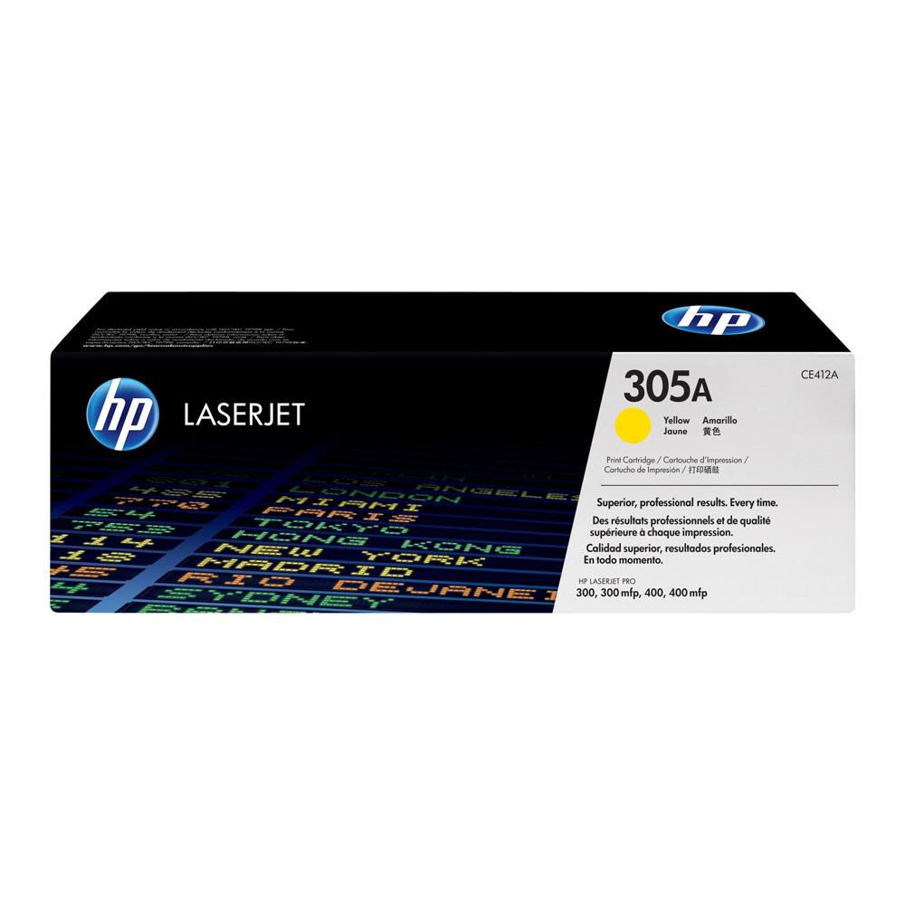 HP Laserjet toner CE412 A Yellow
