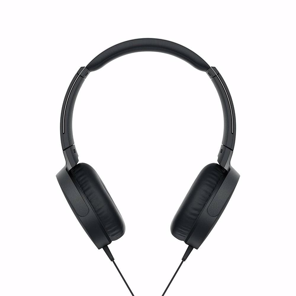 Sony MDRXB550AP EXTRA BASS Headphones-Black
