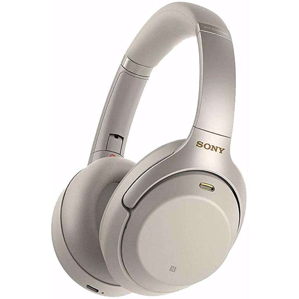 Sony WH1000XM3 Wireless Noise Cancelling Headphones-Silver