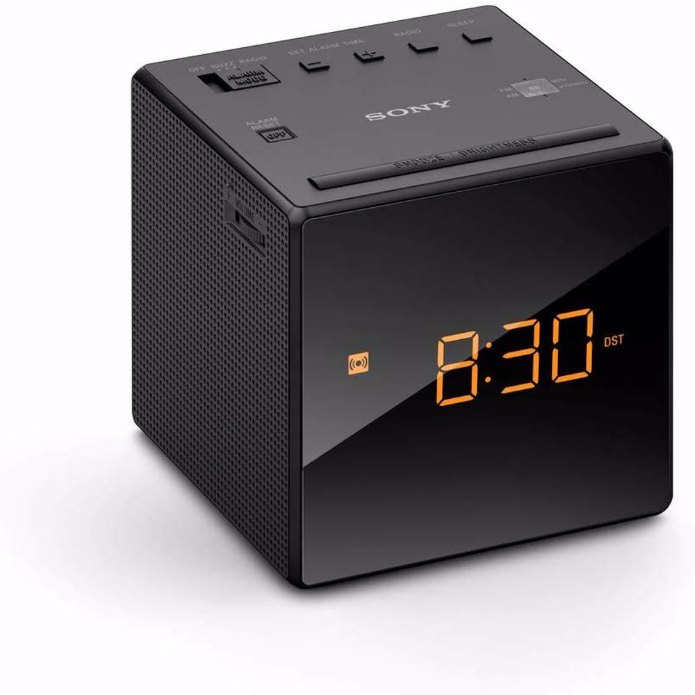 Sony ICF-C1 Desktop Alarm Clock AM FM Radio