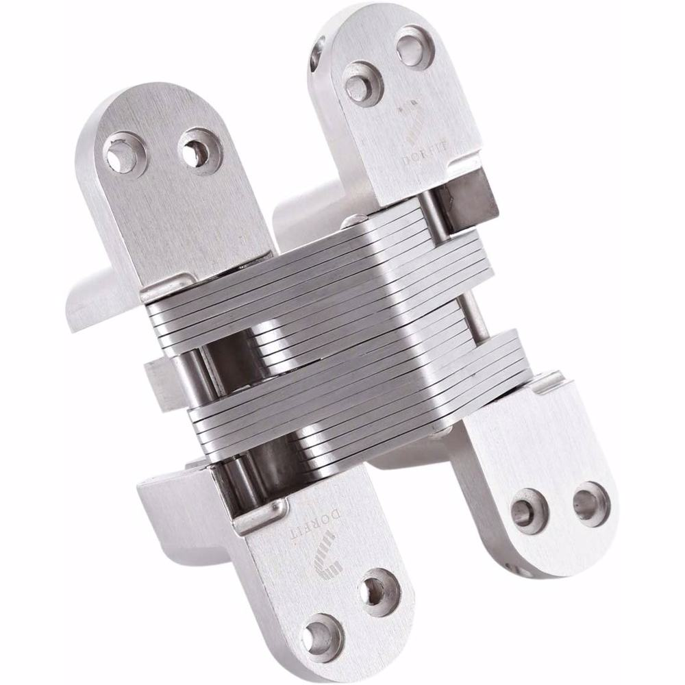 Dorfit DTCH008 Concealed Invisible SOS Hinges For Door 28x118 mm