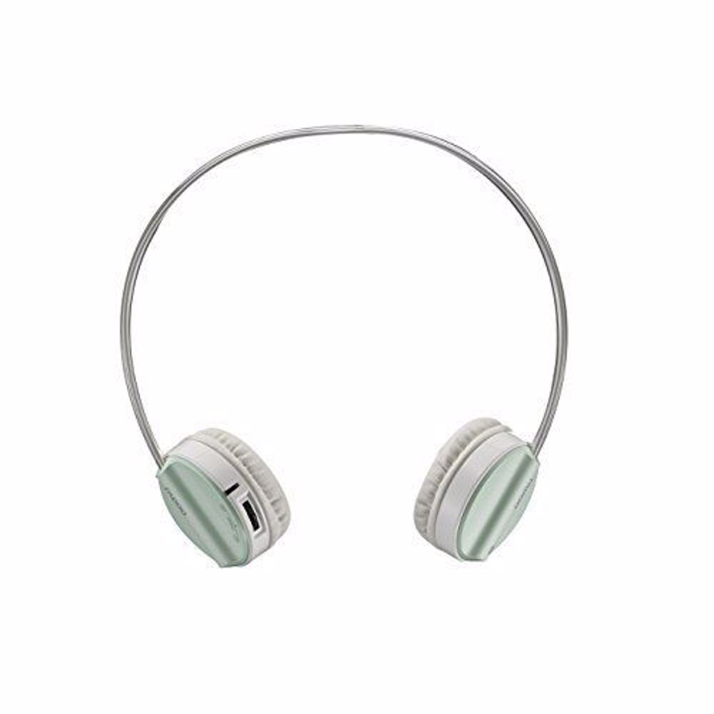 H6020 PRO GR Rapoo H6020 Bluetooth 4.1 Stereo Headset Wireless Headphone with hidden Microphone - 16 Hours Play Time - Green
