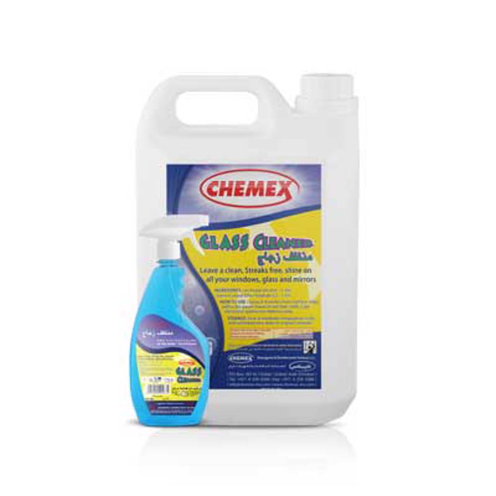 Chemex - Glass Cleaner -5 Ltr (4 pieces)