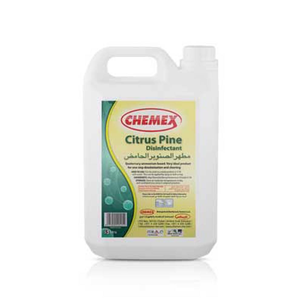 Chemex Pine Disinfectant Citrus-5 Ltr