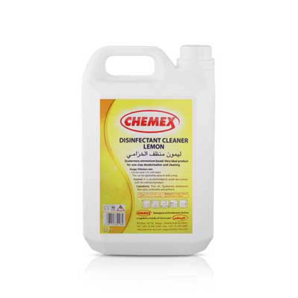 Chemex Pine Disinfectant Lemon-5 Ltr