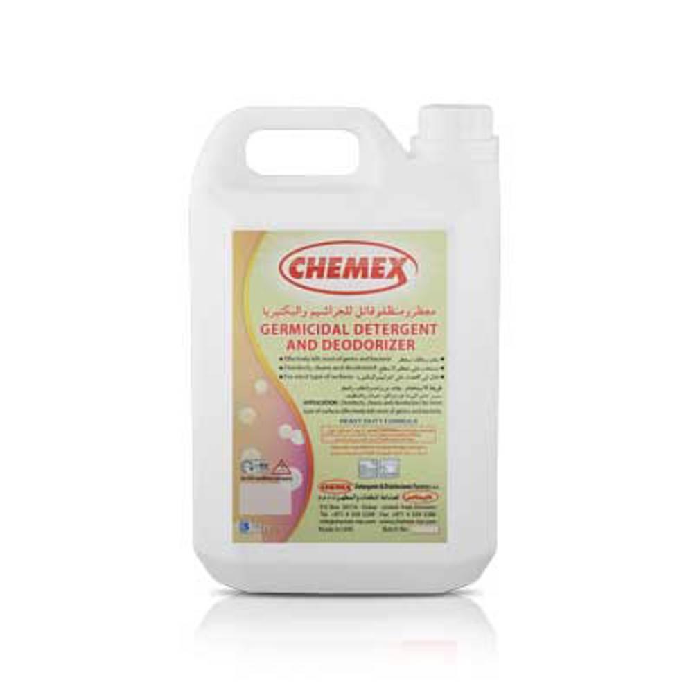 Chemex Germicidal Detergent & Deodorizer-5 Ltr