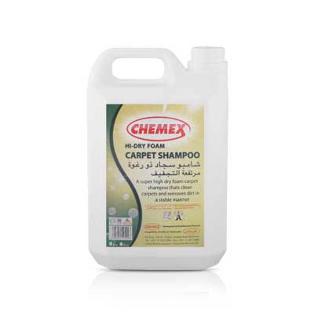 Chemex Hi-Dri Foam Carpet Shampoo-5 Ltr