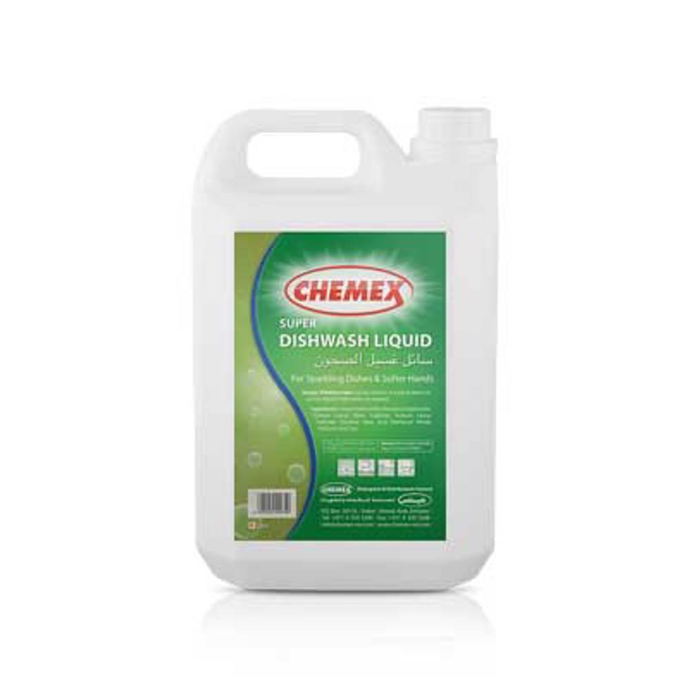 Chemex - Dishwash Liquid - Super -4 Ltr (4 pieces)