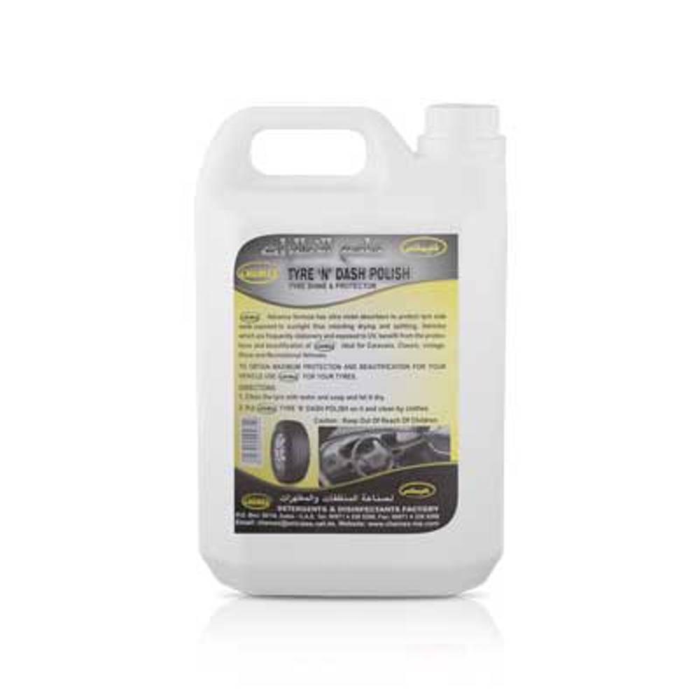 Chemex Tyre & Dash Polish-5 Ltr