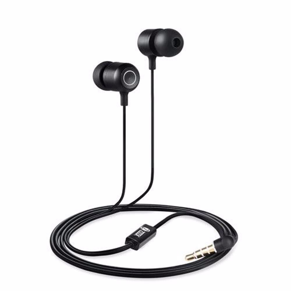 Zoook Bass Monster 110 Metallic HD Earphones with Xbass & Mic - Black