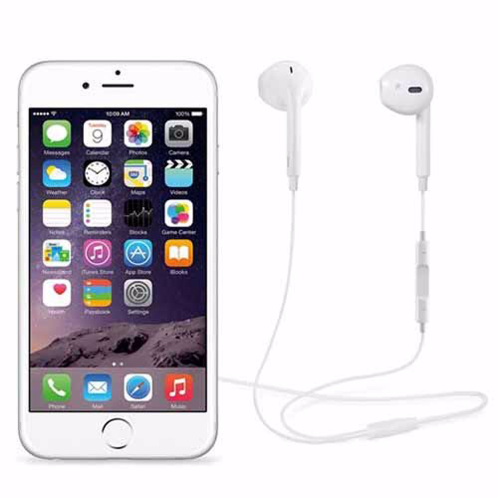 Zoook Apple Type Earphones with Mic - White
