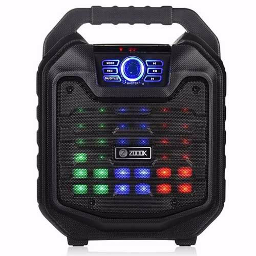 Zoook Rocker Thunder2 30 watts Karaoke Bluetooth Speaker with Remote & Wired Mic (Black)