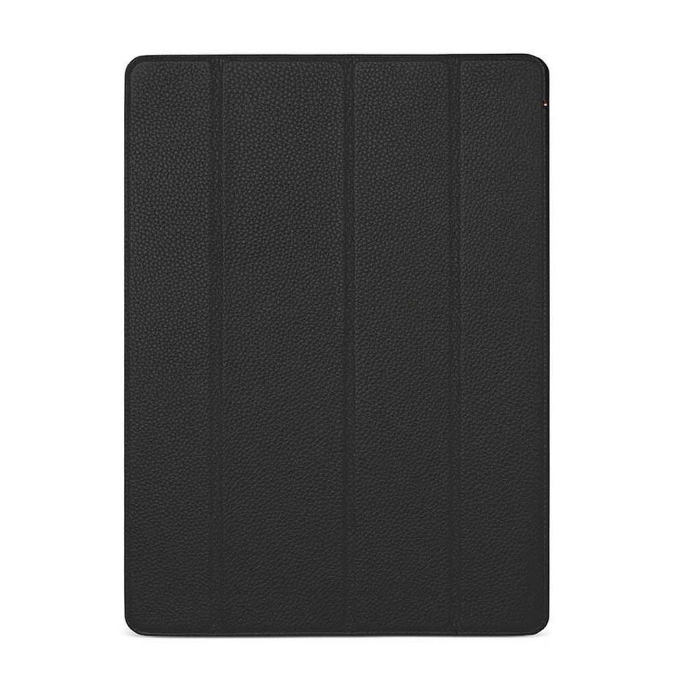 DECODED Leather Slim Cover for 12.9-inch iPad Pro 2018 - Black