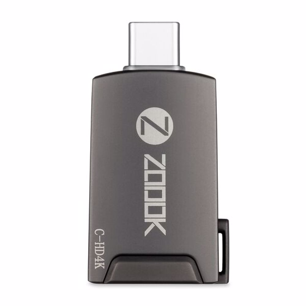 Zoook C HD4K Type C to HDMI Adapter - Grey