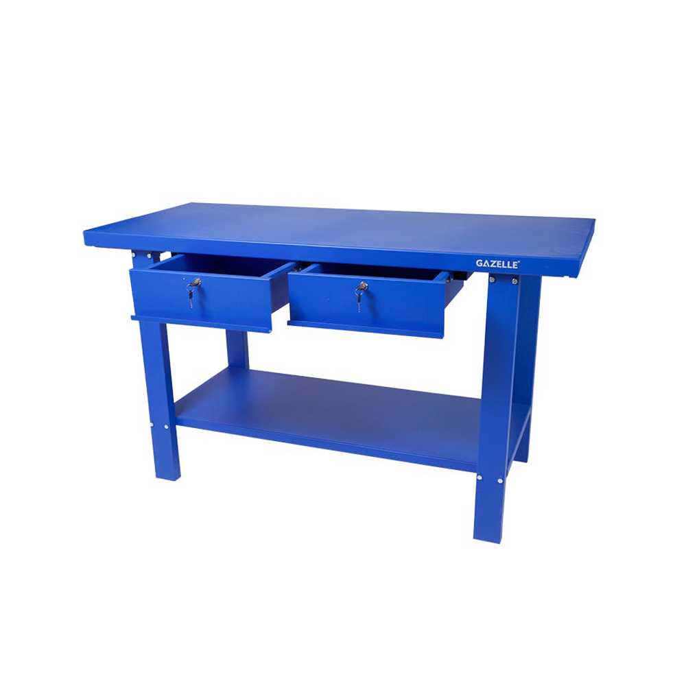 GAZELLE - G2603 59 Inch Steel Workbench with drawers