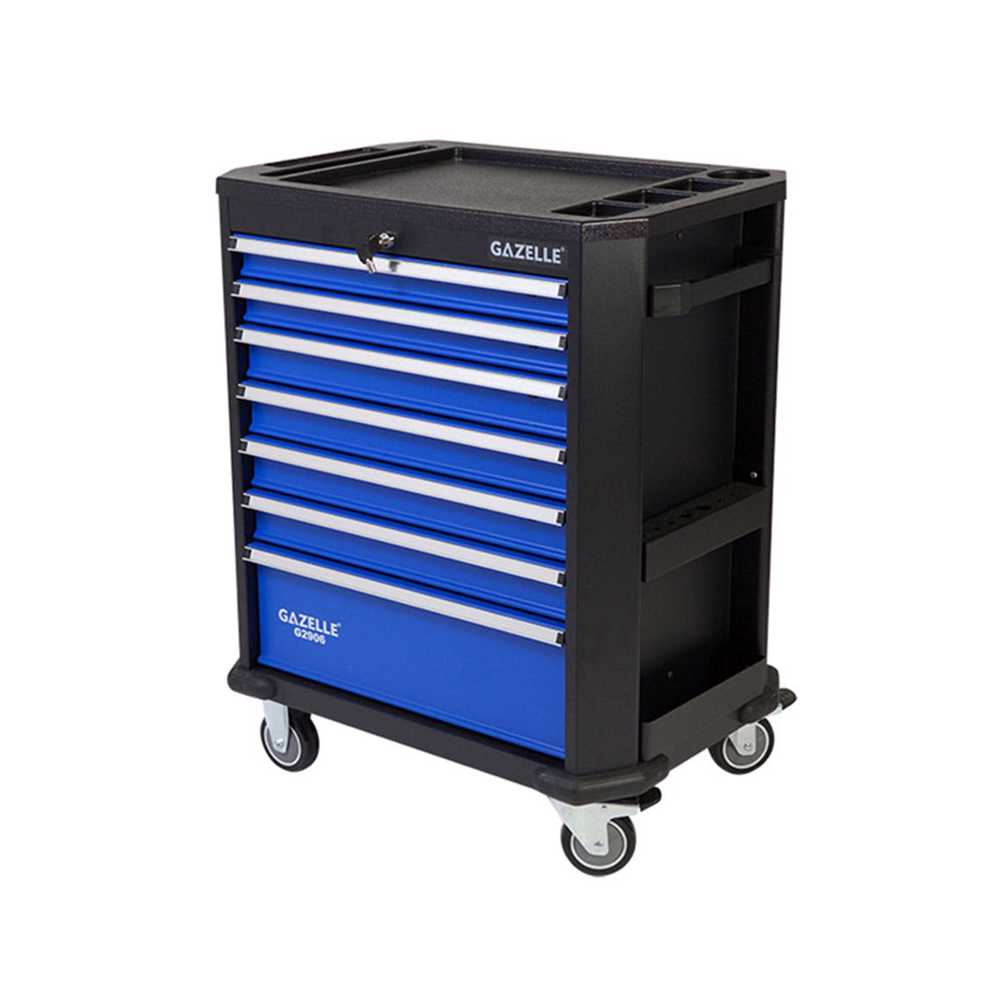 GAZELLE - G2906 27 Inch 7-Drawer Rolling Tool Cabinet