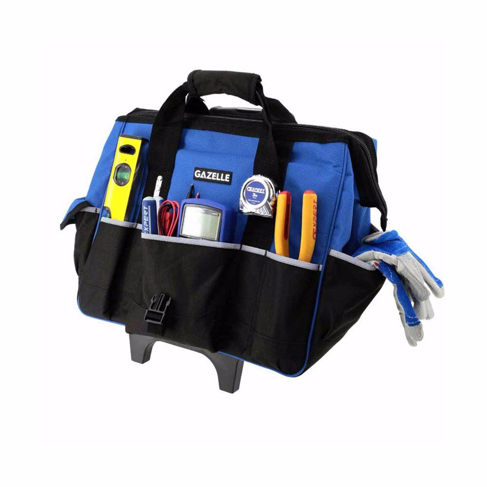 GAZELLE - 23 Pocket Tool Trolley Bag