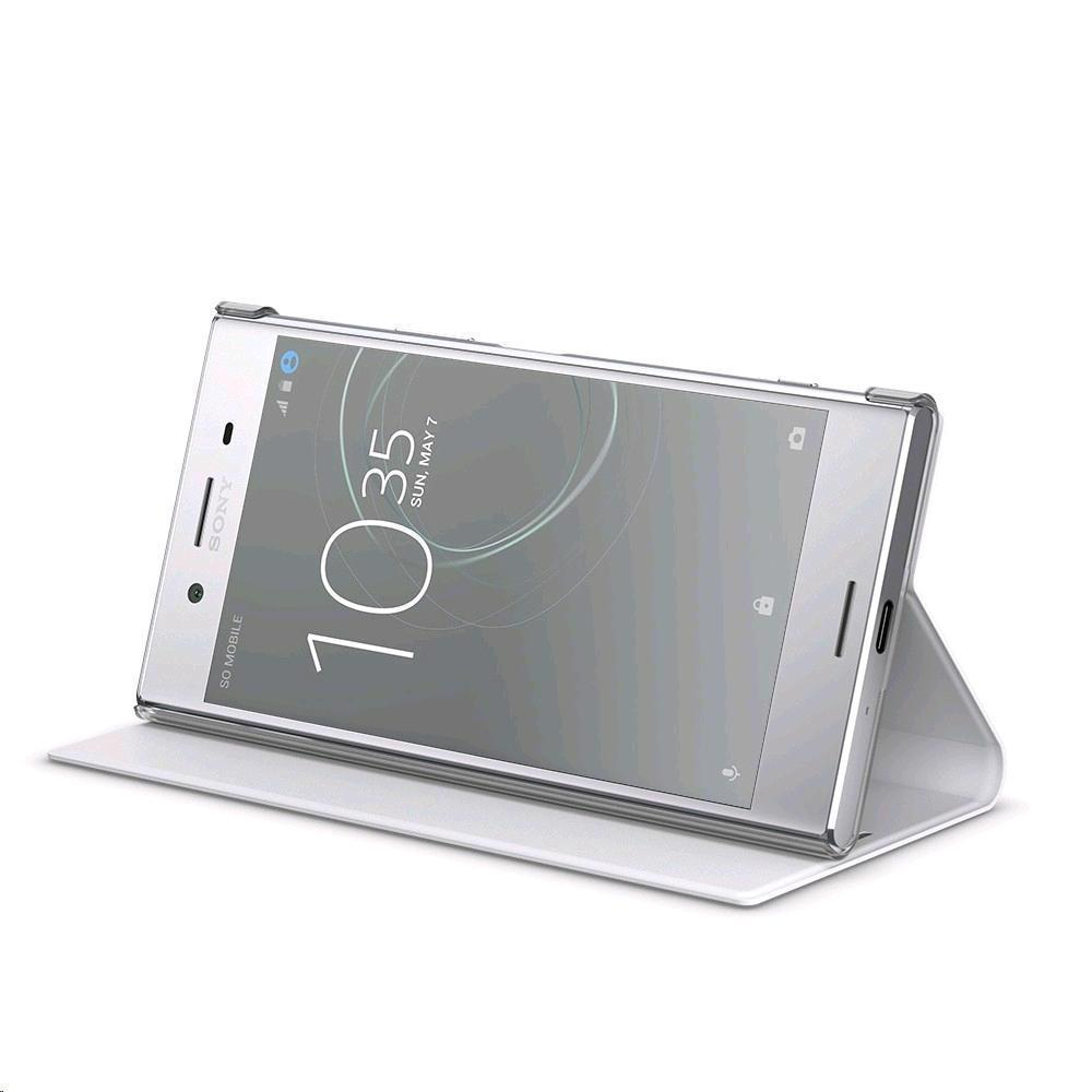 SONY Style Cover Stand for Xperia XZ Premium White