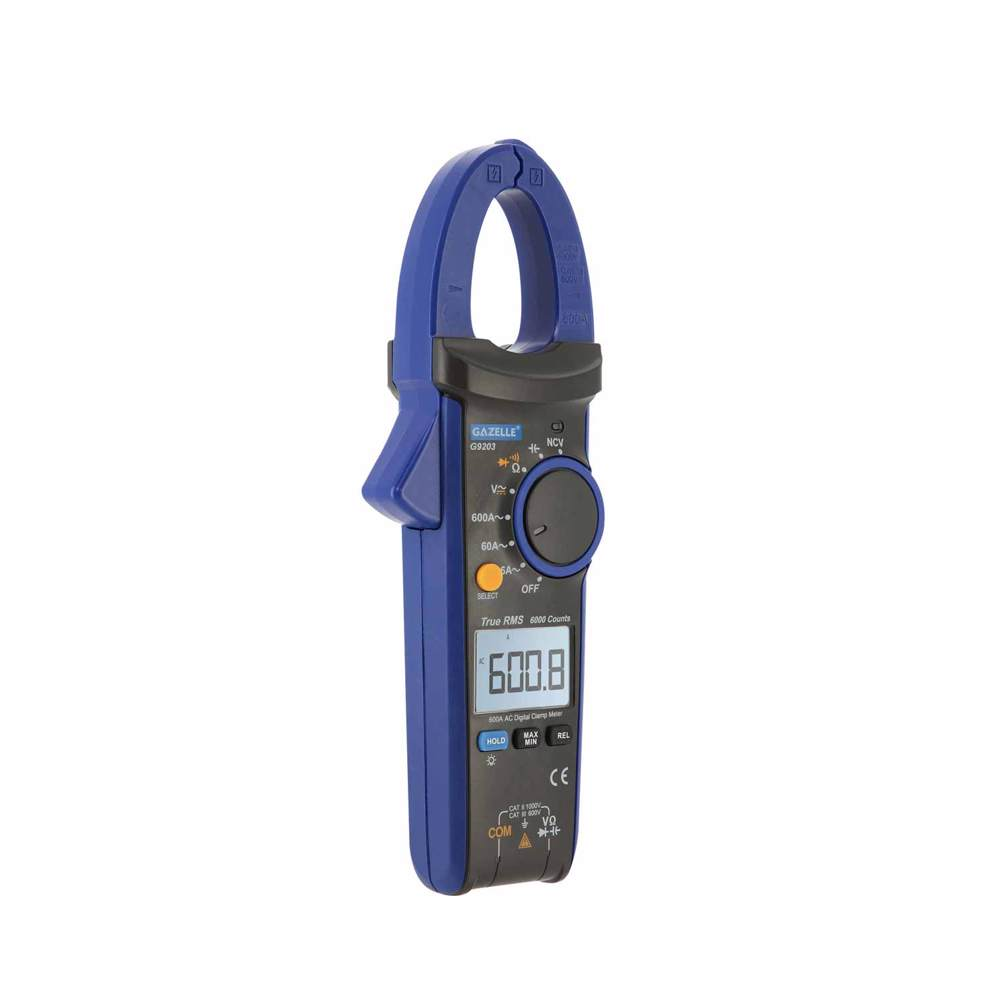 GAZELLE - 600A True RMS Digital Clamp Meter