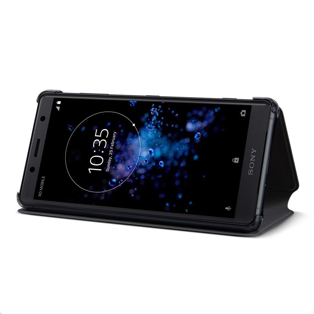 SONY Style Cover Stand for Xperia XZ2 Compact Black