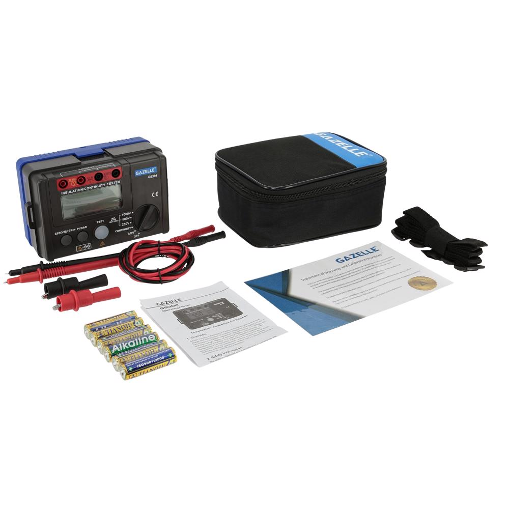 GAZELLE - 1000V Insulation Tester