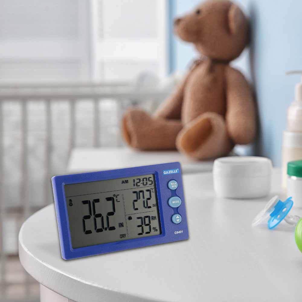 GAZELLE - Big Digit Temperature Humidity Meter