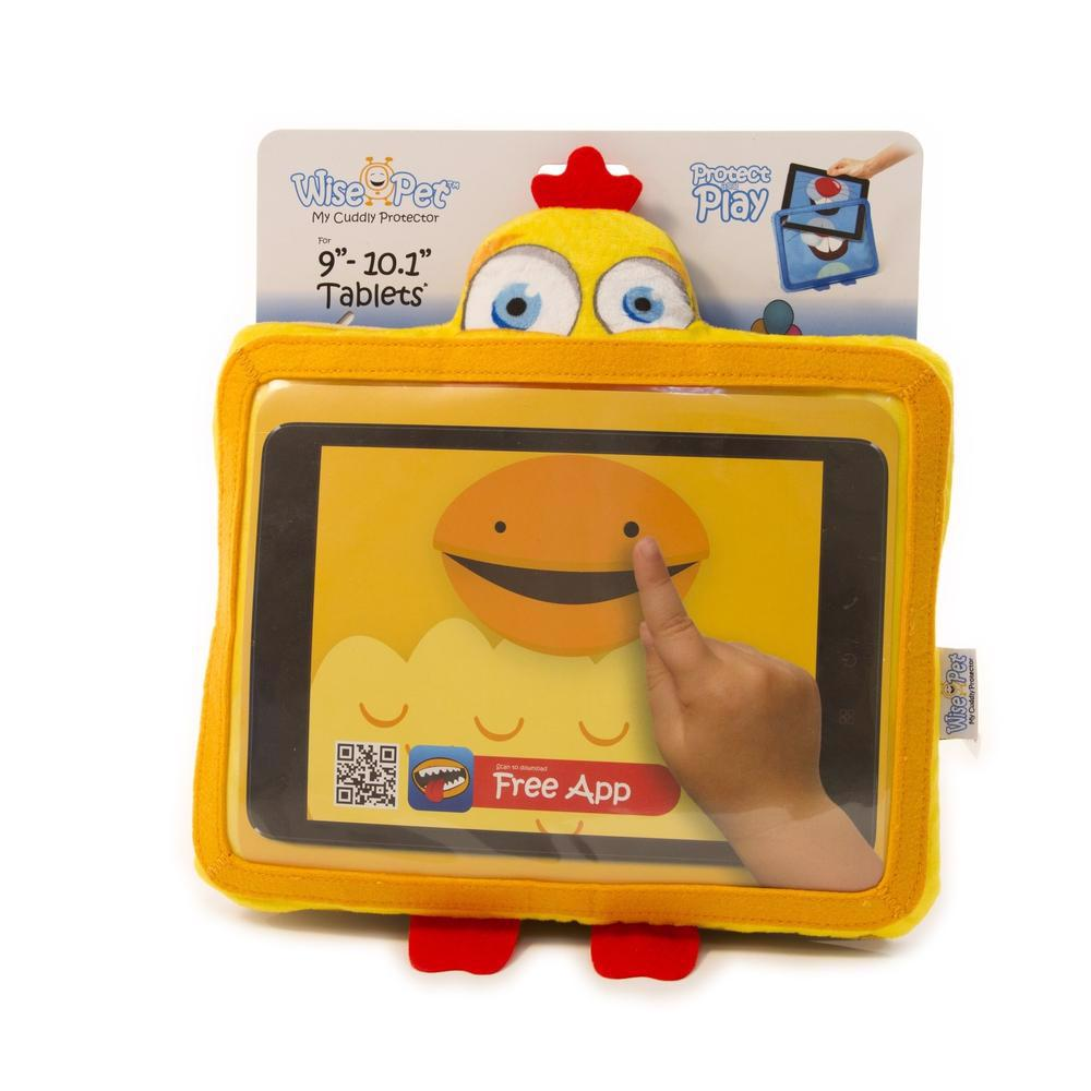 """WISE PET My Cuddly Protector For 9-10"""" Tablets Sunny"""