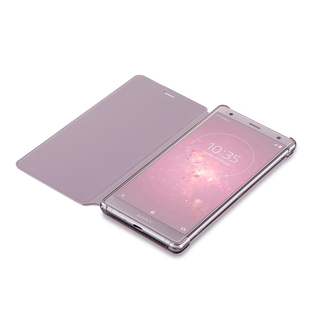 SONY Style Cover Touch for Xperia XZ2 Pink