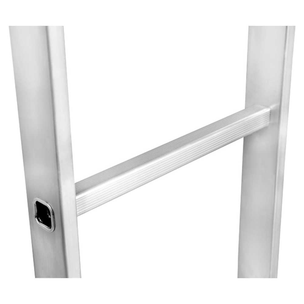GAZELLE - 16 Ft. Aluminium Straight Ladder for working height up to 19 Ft.