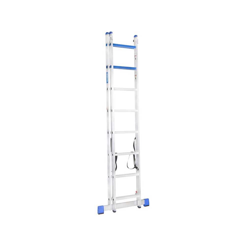 GAZELLE - 12 Ft. Aluminium Combination Ladder 2 X 8 Steps