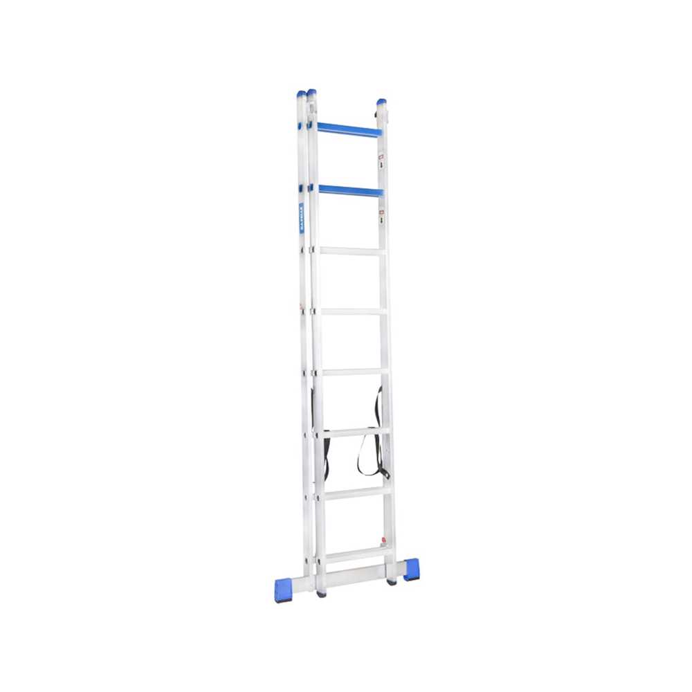 GAZELLE - 20 Ft. Aluminium Combination Ladder 2 X 12 Steps