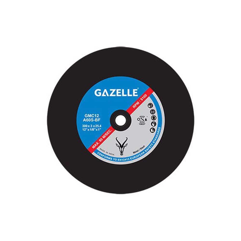 GAZELLE - Large Cut-Off Wheels 16in – 400 x 3 x 25mm