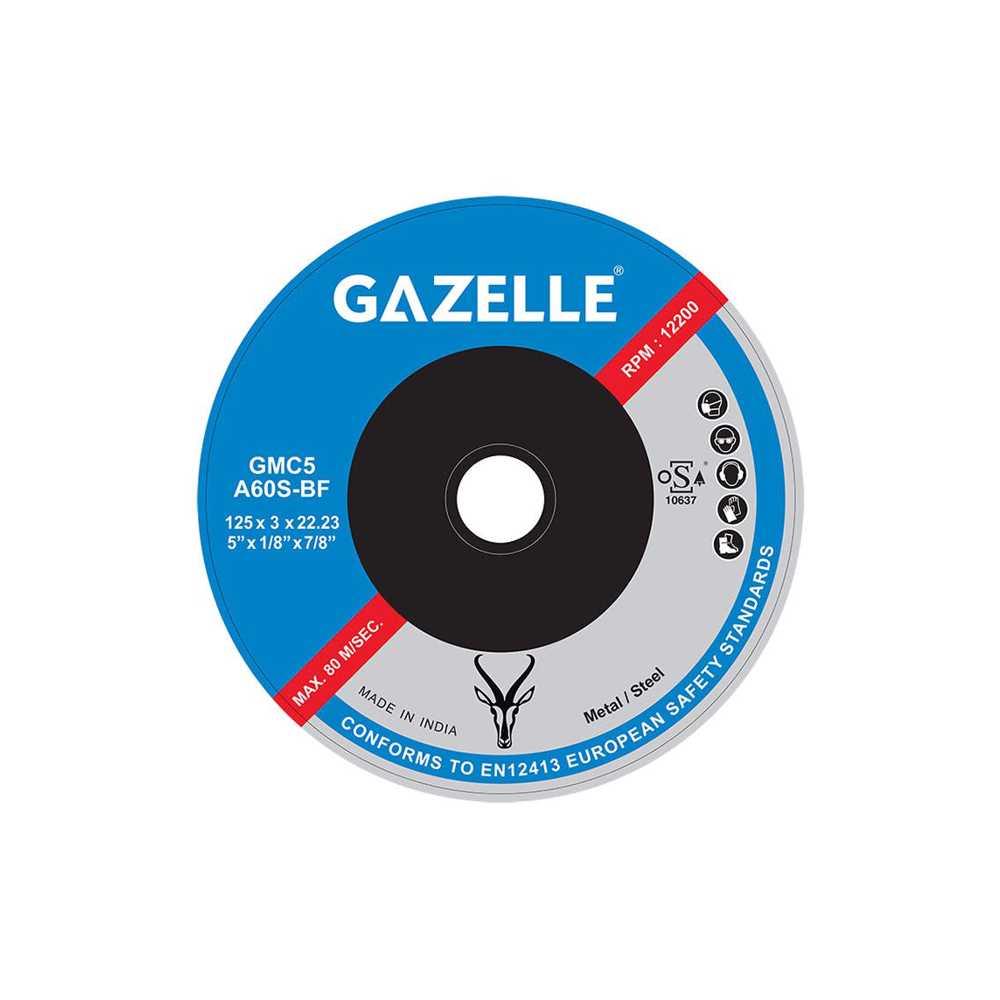 GAZELLE - Metal Cutting Disc 7in – 180 x 3 x 22mm