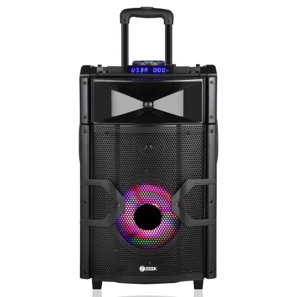 Zoook ZB ROCKER BEATBOX PRO Extreme Sound Machine with DJ Mixer PAD & Light Effects Black