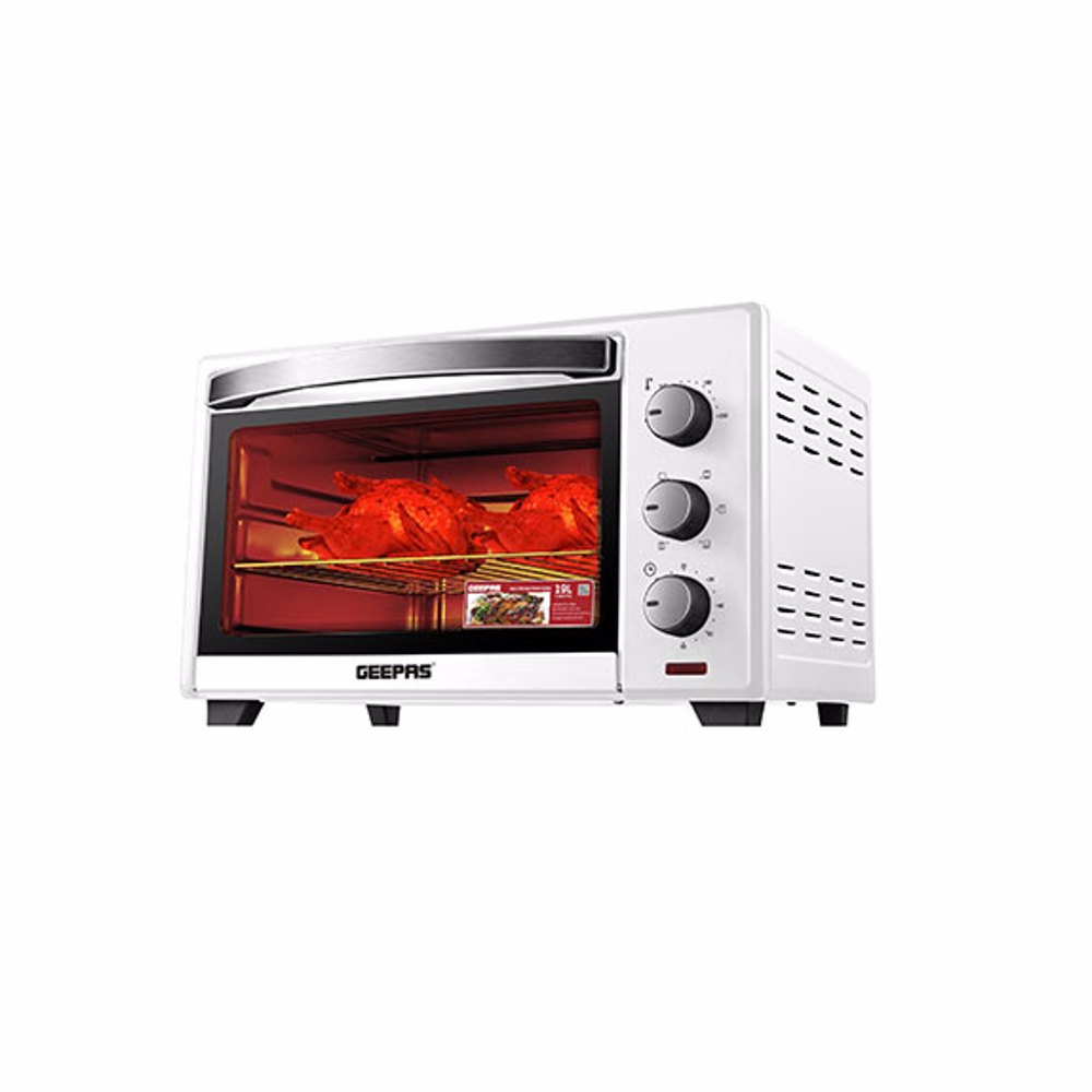 Geepas GO34017UK Electric Oven with Rotisserie, 19L